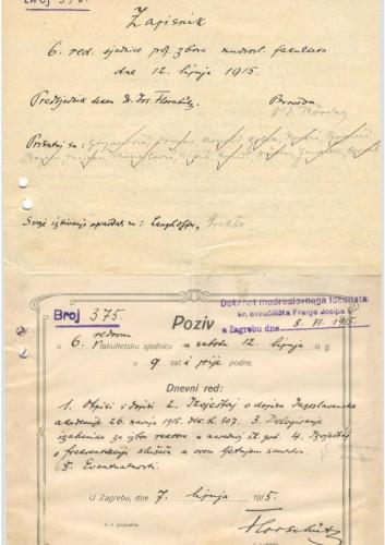 6. redovna sjednica 1914.-1915.