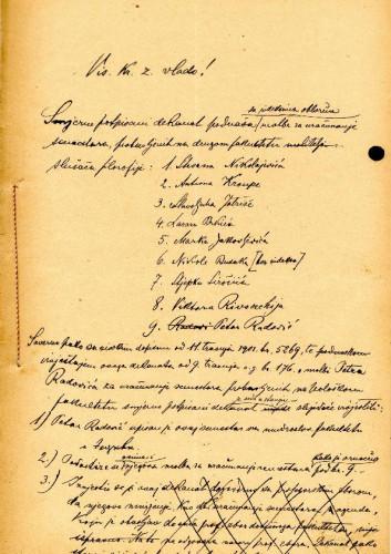 Dopis 1903.