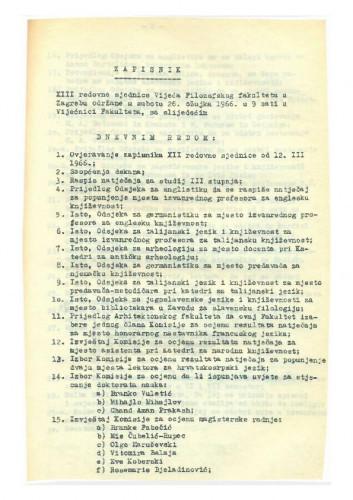 13. redovna sjednica 1965.-1966.