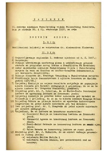 2. redovna sjednica 1957.-1958.