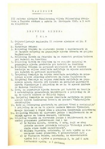 3. redovna sjednica 1965.-1966.