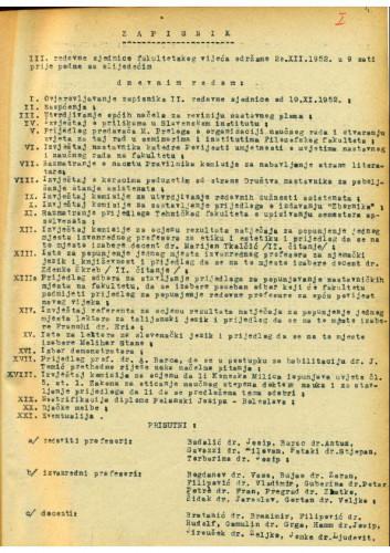 3. redovna sjednica 1952.-1953.