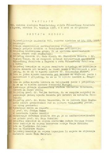 8. redovna sjednica 1957.-1958.