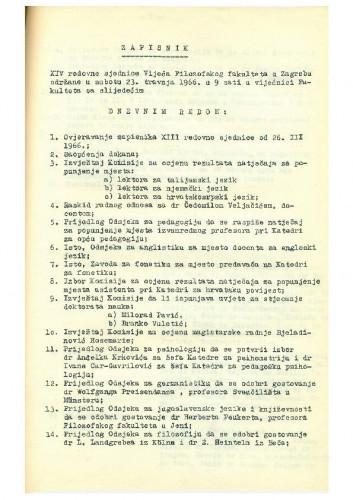 14. redovna sjednica 1965.-1966.