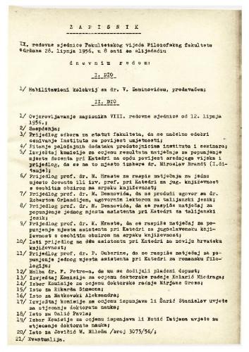 9. redovna sjednica 1955.-1956.