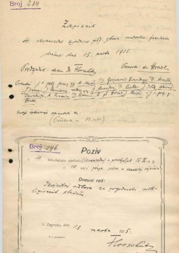 4. izvanredna sjednica 1914.-1915.