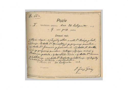 1. redovna sjednica 1913.-1914.