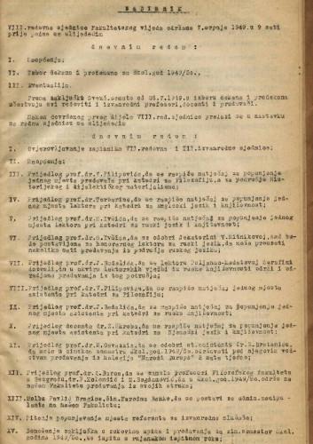 8. redovna sjednica 1948.-1949.