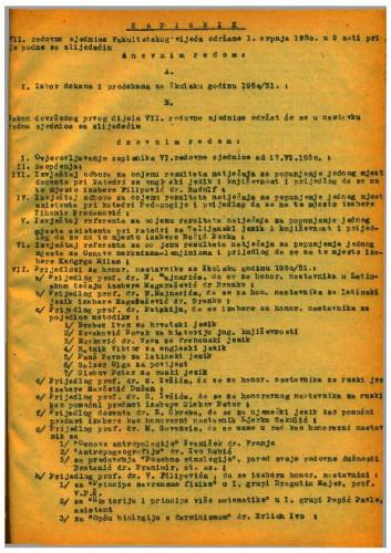 7. redovna sjednica 1949.-1950.