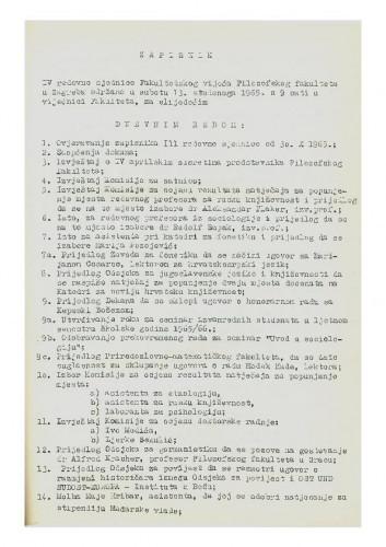 4. redovna sjednica 1965.-1966.