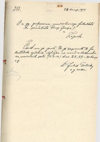 9. redovna sjednica 1913.-1914.