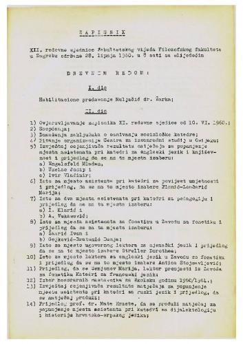 12. redovna sjednica 1959.-1960.