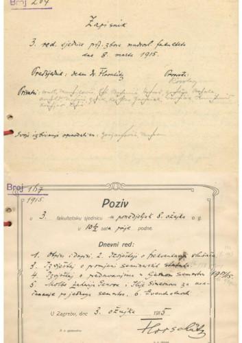 3. redovna sjednica 1914.-1915.