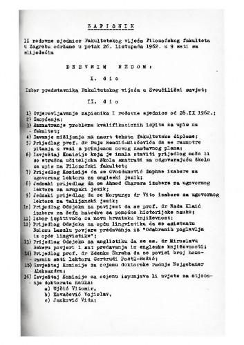 2. redovna sjednica 1962.-1963.