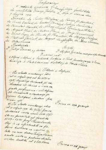 5. redovna sjednica 1902.