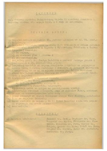 12. redovna sjednica 1957.-1958.