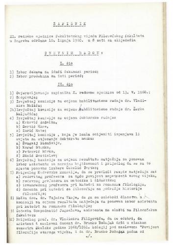 11. redovna sjednica 1959.-1960.