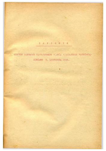 1. redovna sjednica 1956.-1957.