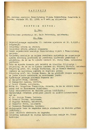 3. redovna sjednica 1958.-1959.