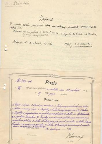 6. redovna sjednica 1915.-1916.