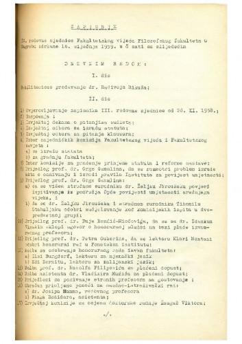 4. redovna sjednica 1958.-1959.