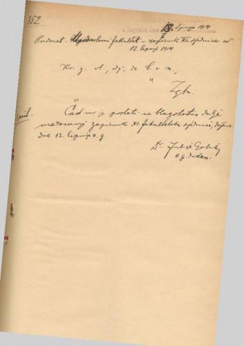11. redovna sjednica 1913.-1914.