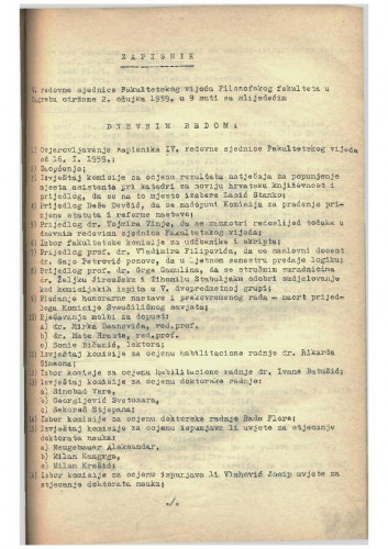 5. redovna sjednica 1958.-1959.