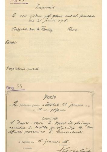 2. redovna sjednica 1914.-1915.