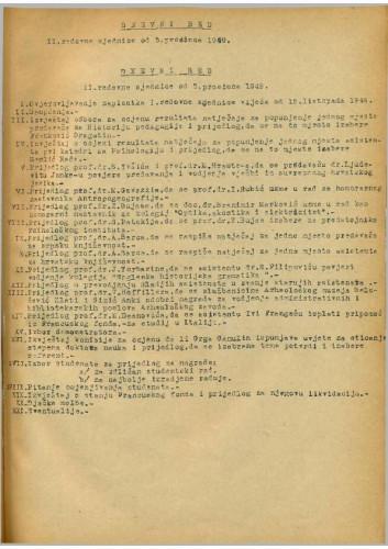 2. redovna sjednica 1949.-1950.