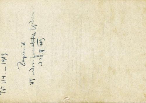 6. redovna sjednica 1913.