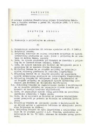 10. redovna sjednica 1965.-1966.
