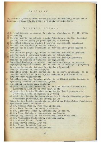 2. redovna sjednica 1958.-1959.