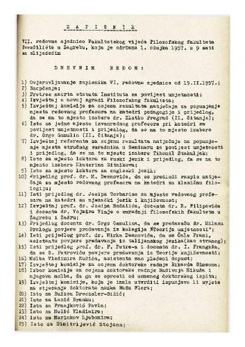 7. redovna sjednica 1956.-1957.