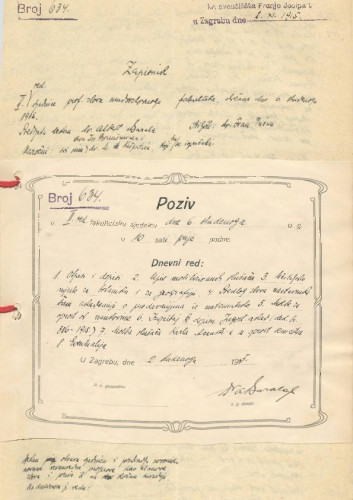 2. redovna sjednica 1915.-1916.