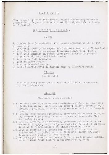 7. redovna sjednica 1959.-1960.