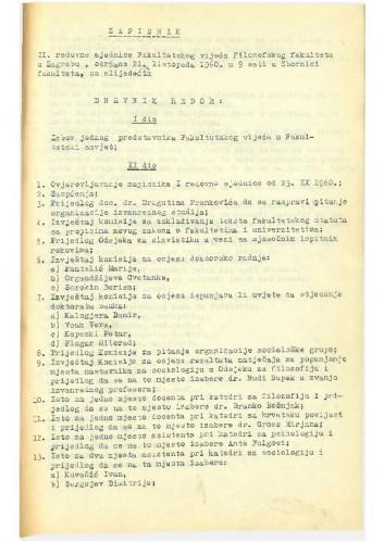 2. redovna sjednica 1960.-1961.