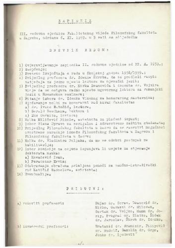 3. redovna sjednica 1959.-1960.