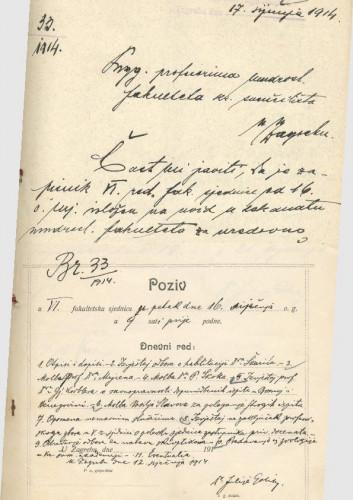 6. redovna sjednica 1913.-1914.