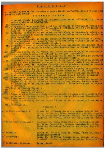 5. redovna sjednica 1949.-1950.