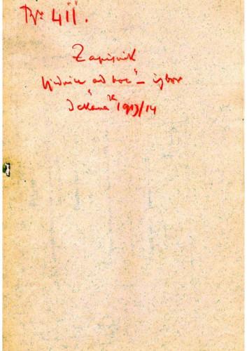 6. izvanredna sjednica 1913.