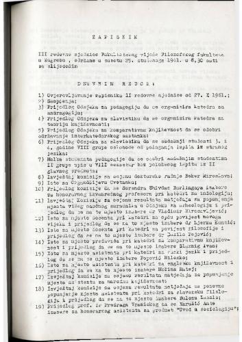 3. redovna sjednica 1961.-1962.