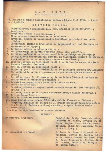 4. redovna sjednica 1953.-1954.