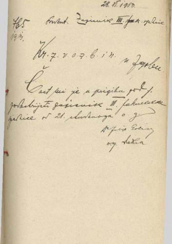 3. redovna sjednica 1913.-1914.
