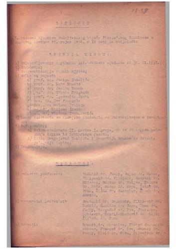 1. redovna sjednica 1958.-1959.