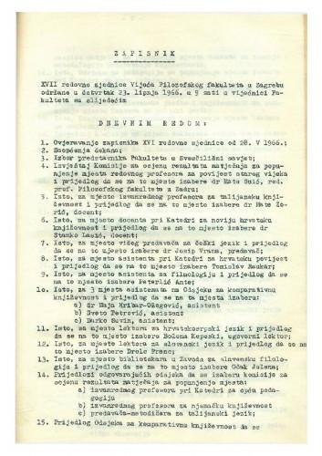 17.  redovna sjednica 1965.-1966.