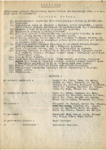 7. redovna sjednica 1950.-1951.