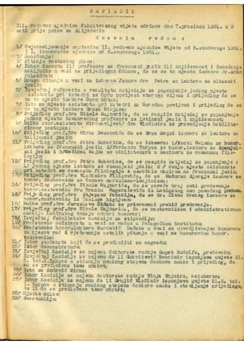 3. redovna sjednica 1951.-1952.
