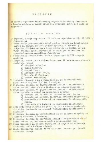 4. redovna sjednica 1962.-1963.