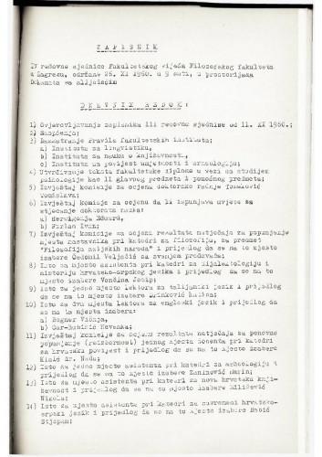 4. redovna sjednica 1960.-1961.