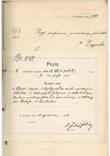 5. redovna sjednica 1913.-1914.